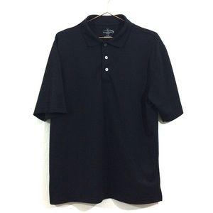 Champions Tour Golf Polo Men's Size Large Black